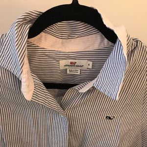 VINEYARD VINES Striped Polo
